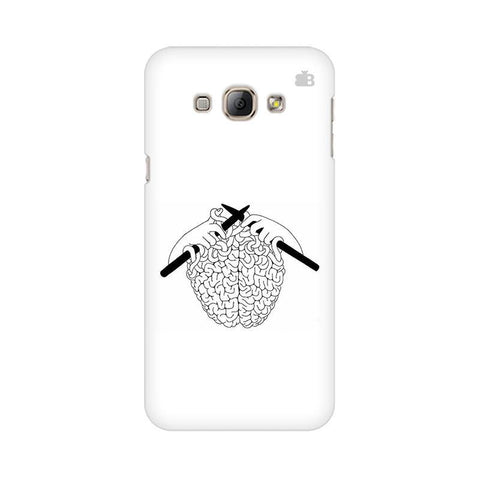 Weaving Brain Samsung A8 Phone Cover