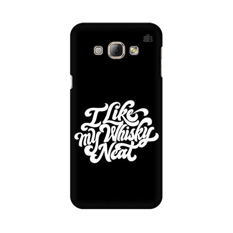 Whiskey Neat Samsung A8 Phone Cover