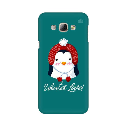 Winter Love Samsung A8 Phone Cover