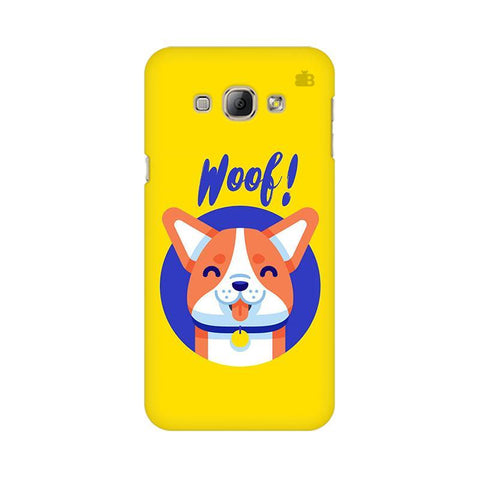 Woof Samsung A8 Phone Cover