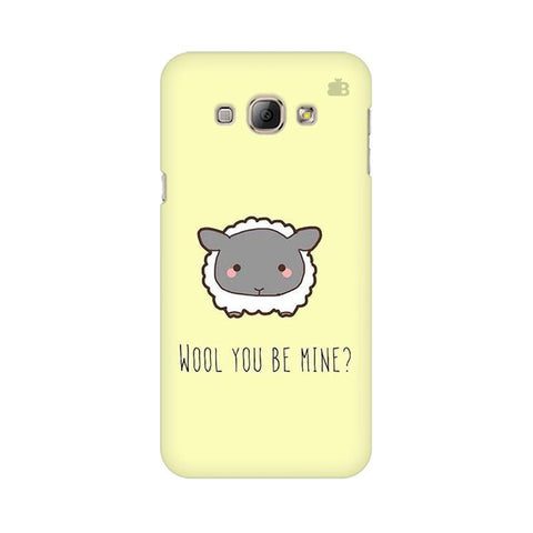 Wool Samsung A8 Phone Cover