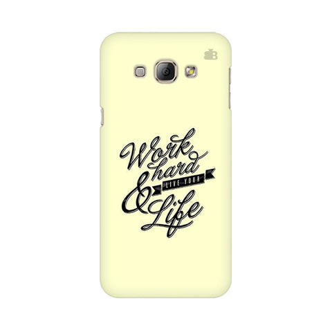 Work Hard Samsung A8 Phone Cover
