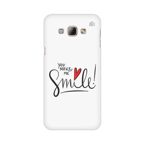 You make me Smile Samsung A8 Phone Cover