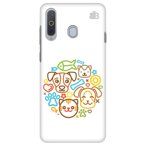 Cute Pets Samsung A8s Cover