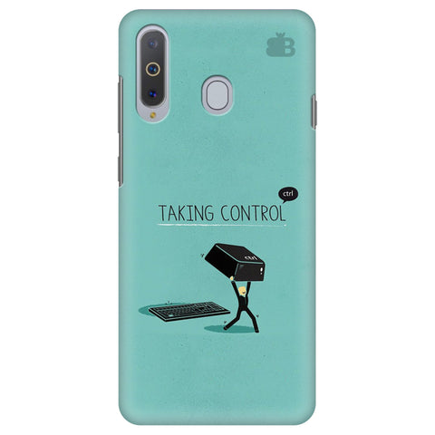Taking Control Samsung A8s Cover