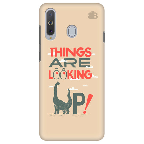 Things are looking Up Samsung A8s Cover