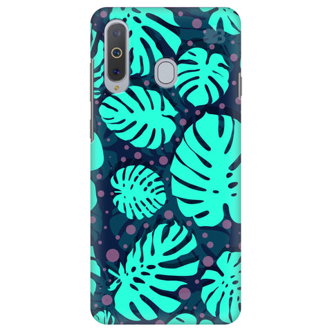 Tropical Leaves Pattern Samsung A8s Cover
