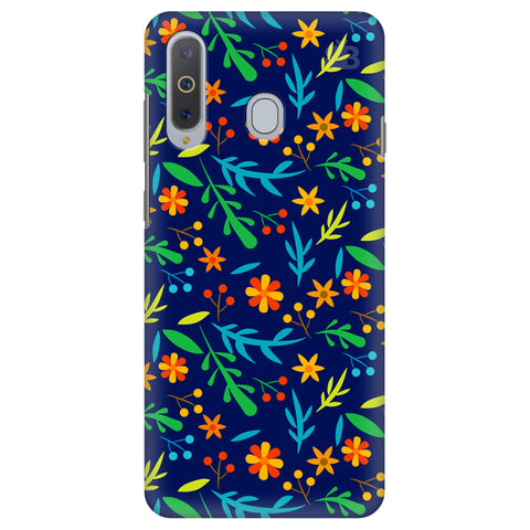 Vibrant Floral Pattern Samsung A8s Cover