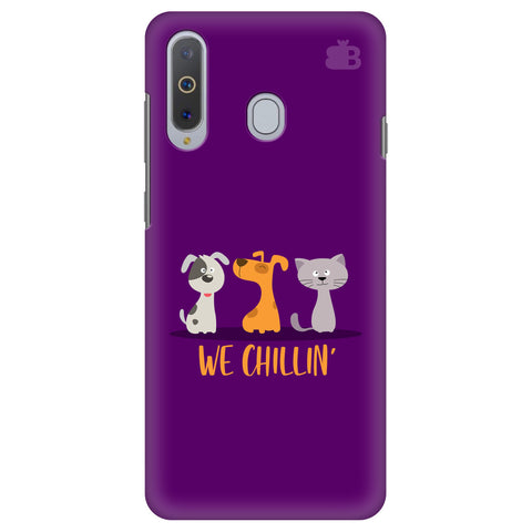 We Chillin Samsung A8s Cover