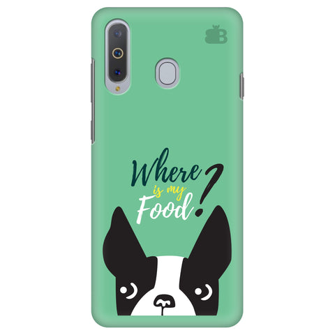 Where is my Food Samsung A8s Cover