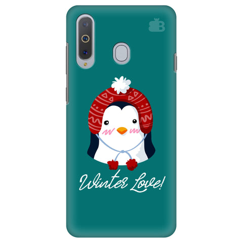 Winter Love Samsung A8s Cover