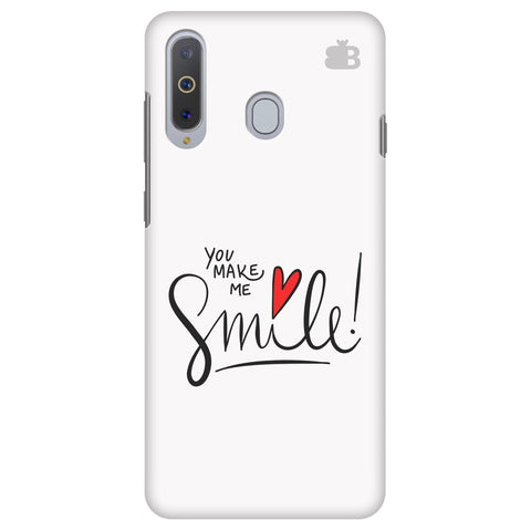 You make me Smile Samsung A8s Cover