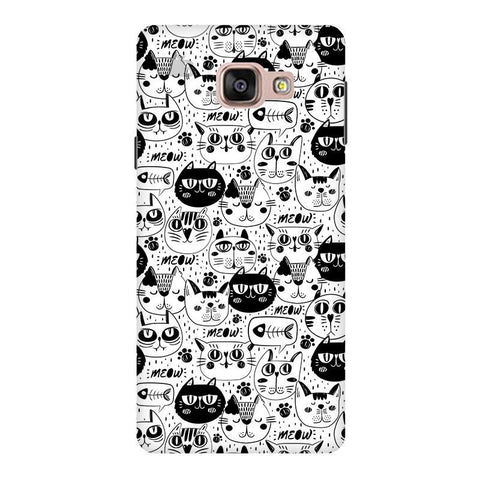 Cute Cats Pattern Samsung A9  Pro Phone Cover