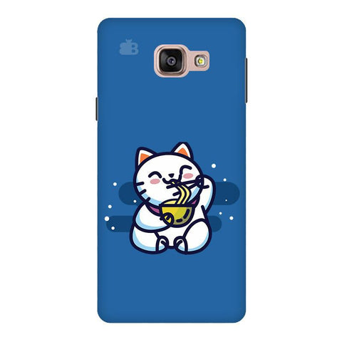 KItty eating Noodles Samsung A9  Pro Phone Cover