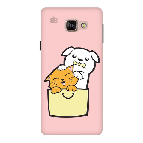 Kitty Puppy Buddies Samsung A9  Pro Phone Cover