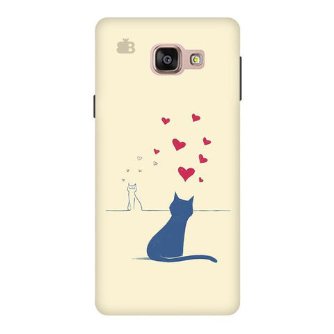 Kitty in Love Samsung A9  Pro Phone Cover