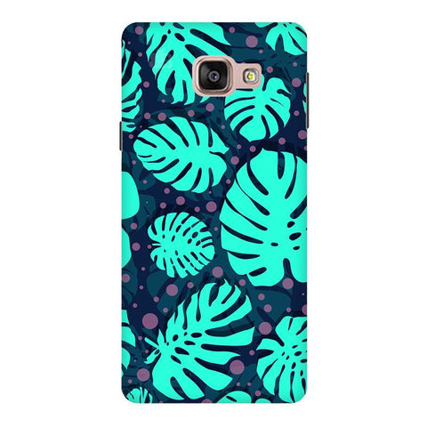 Tropical Leaves Pattern Samsung A9  Pro Phone Cover