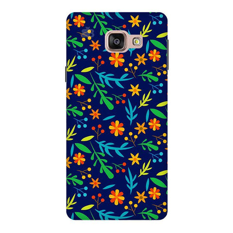 Vibrant Floral Pattern Samsung A9  Pro Phone Cover