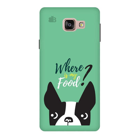 Where is my Food Samsung A9  Pro Phone Cover
