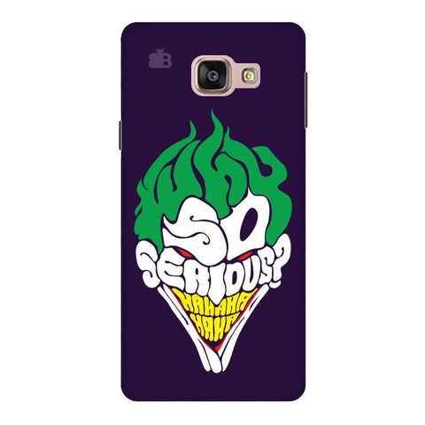 Why So Serious Samsung A9  Pro Phone Cover