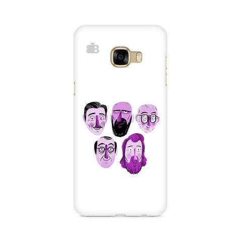 5 Bearded Faces Samsung C7 Pro Cover