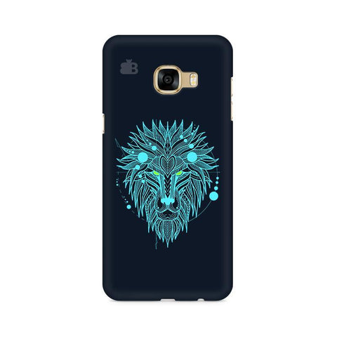 Abstract Art Lion Samsung C7 Pro Cover