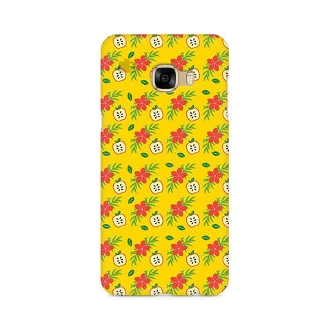 Apples & Flowers Samsung C7 Pro Cover