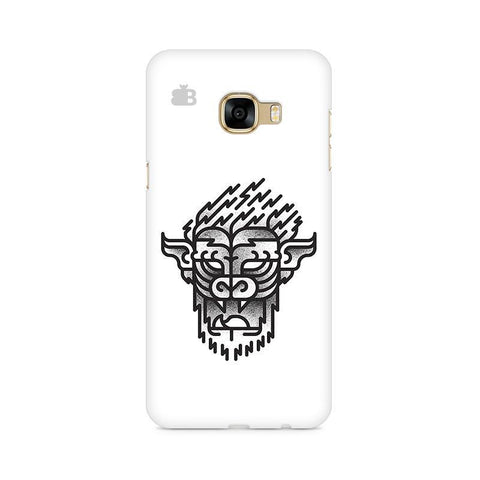 Arty Lion Samsung C7 Pro Cover