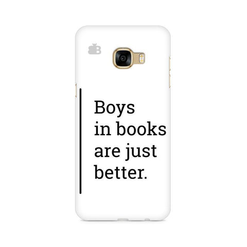 Boys in Books Samsung C7 Pro Cover