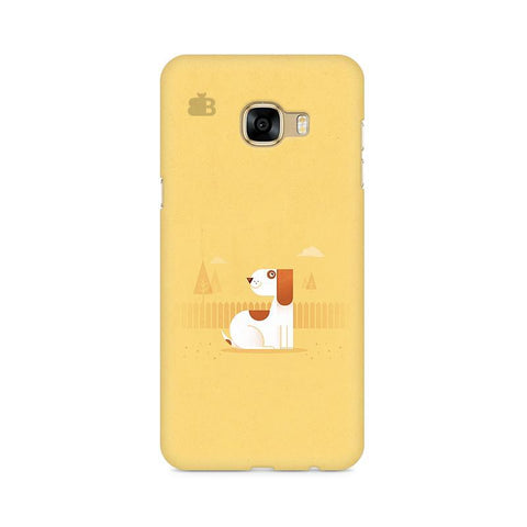 Calm Dog Samsung C7 Pro Cover