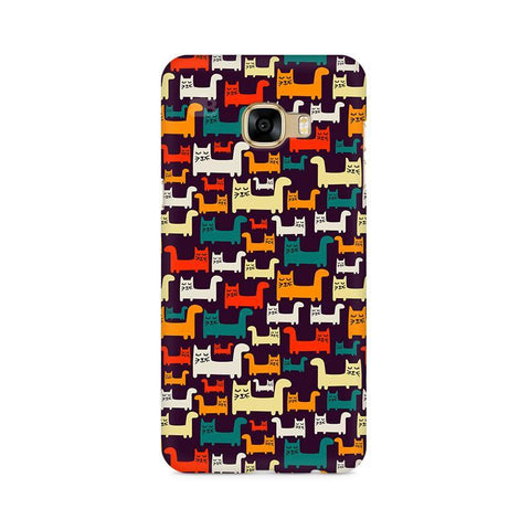 Chill Cats Samsung C7 Pro Cover