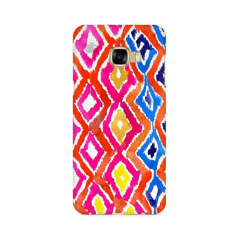 Colorful Ikat Samsung C7 Pro Cover