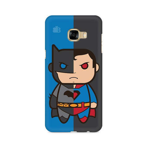 Cute Superheroes Annoyed Samsung C7 Pro Cover