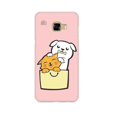 Kitty Puppy Buddies Samsung C7 Pro Cover