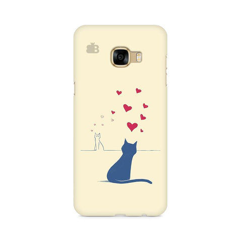 Kitty in Love Samsung C7 Pro Cover