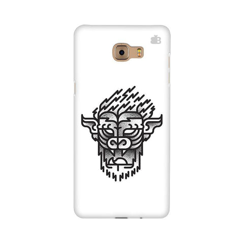 Arty Lion Samsung C9 Pro Cover