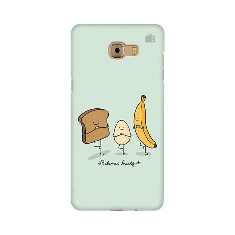 Balanced Breakfast Samsung C9 Pro Cover