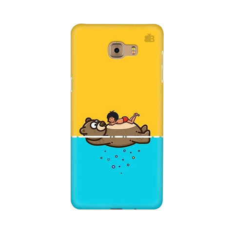 Baloo and Mowgli Samsung C9 Pro Cover