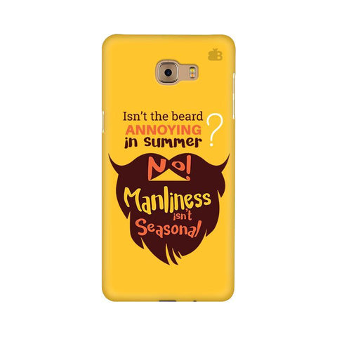 Beard Brown Samsung C9 Pro Cover