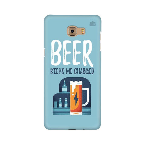 Beer Charged Samsung C9 Pro Cover