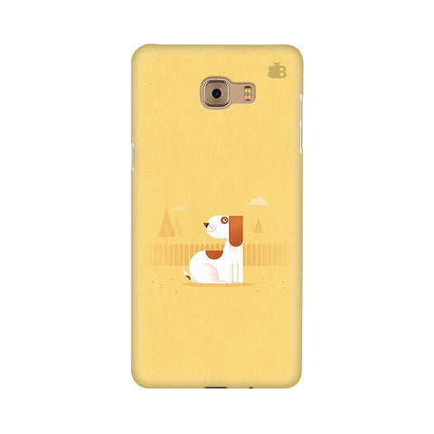 Calm Dog Samsung C9 Pro Cover