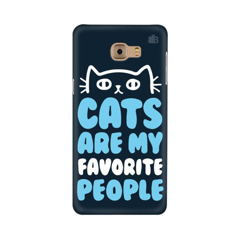 Cats favorite People Samsung C9 Pro Cover