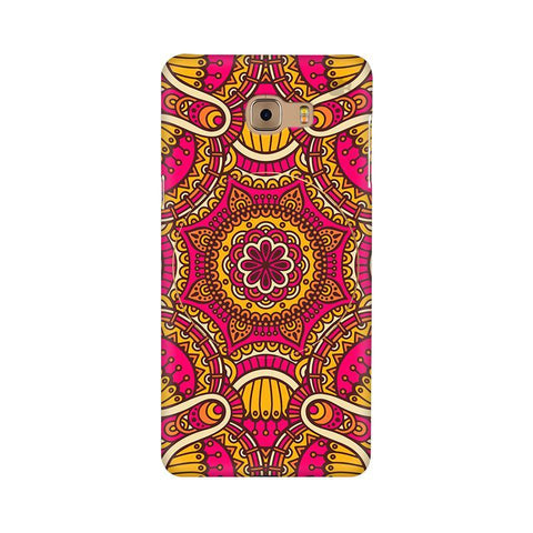 Colorful Ethnic Art Samsung C9 Pro Cover