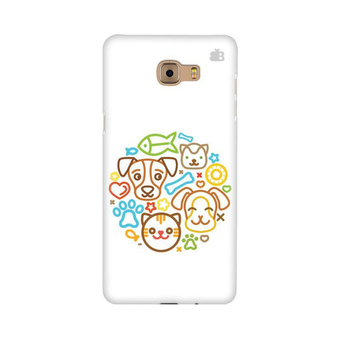 Cute Pets Samsung C9 Pro Cover