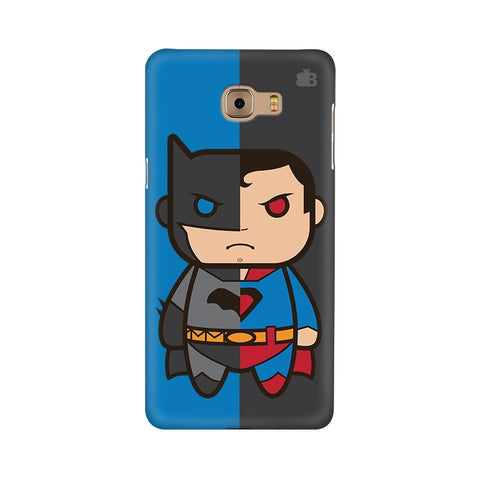 Cute Superheroes Annoyed Samsung C9 Pro Cover