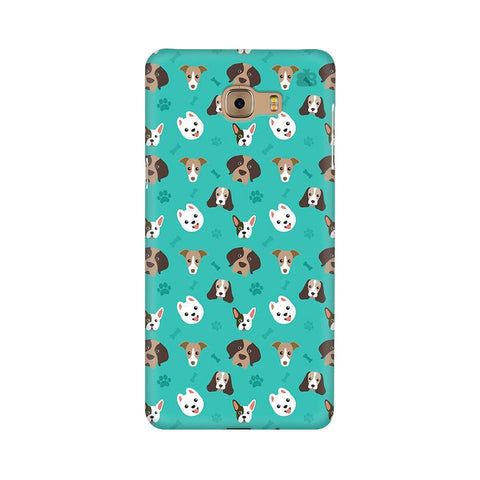 Doggie Pattern Samsung C9 Pro Cover