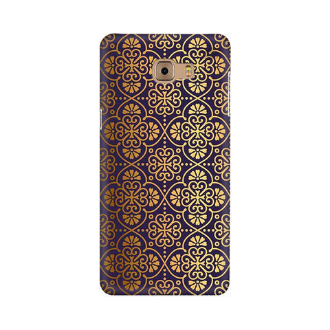 Gold Ornament Samsung C9 Pro Cover