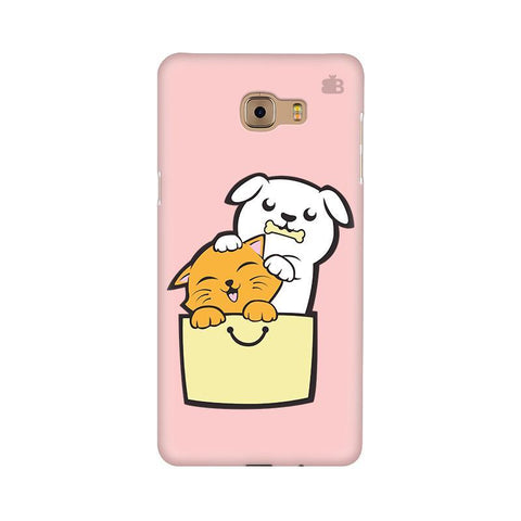Kitty Puppy Buddies Samsung C9 Pro Cover