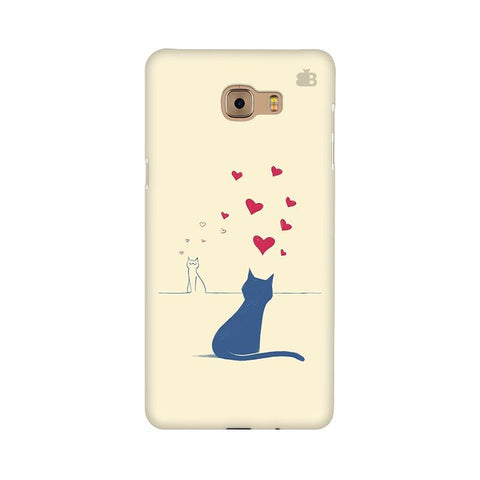 Kitty in Love Samsung C9 Pro Cover