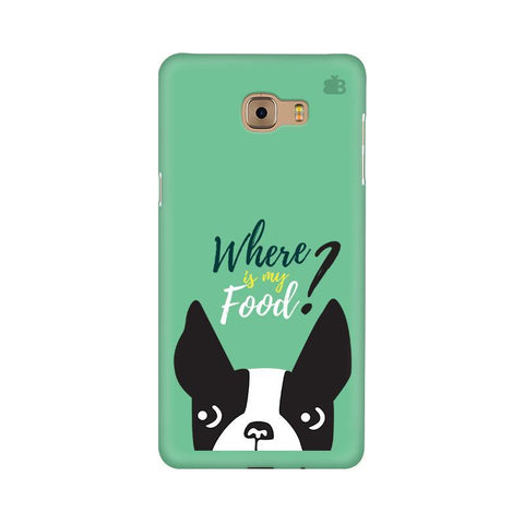 Where is my Food Samsung C9 Pro Cover